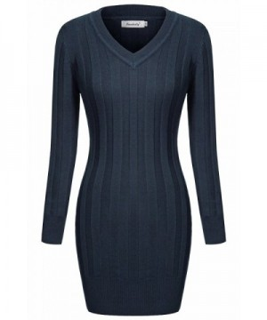 Ninedaily Sleeve Bodycon Pullover Sweaters