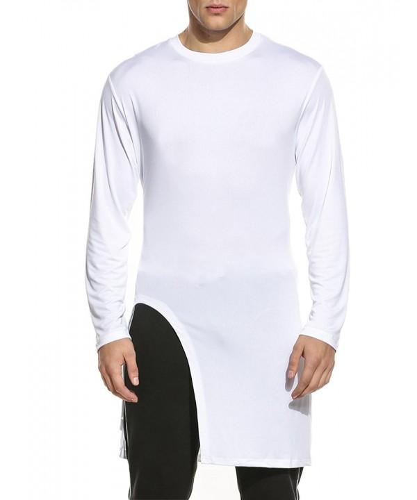 JINIDU Mens Sleeve Pullover T Shirt