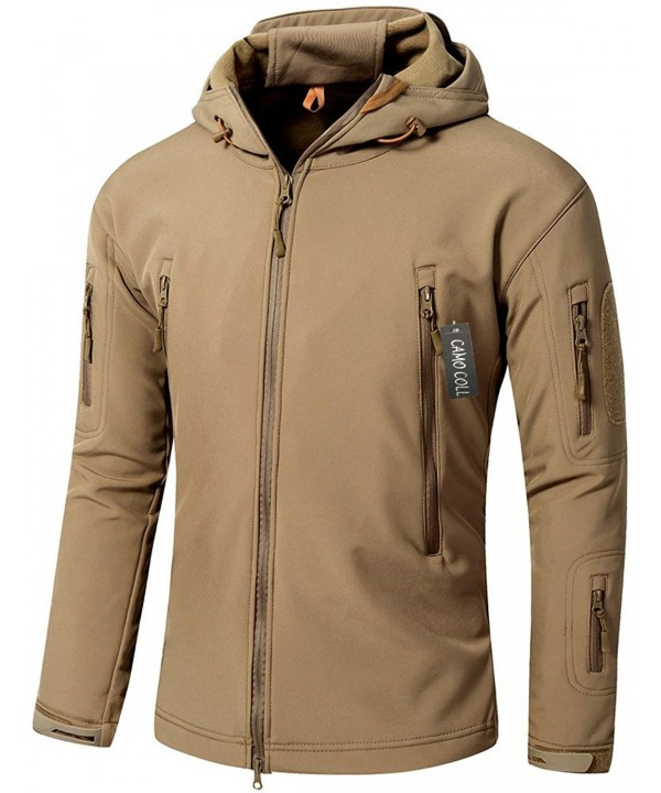 Camo Coll Outdoor Hooded Tactical