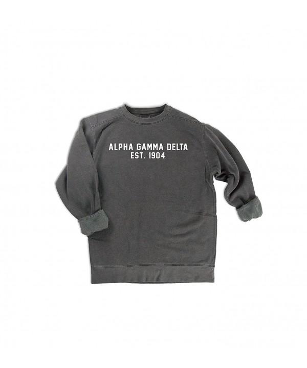 Comfort Colors Alpha Sweatshirt Sorority