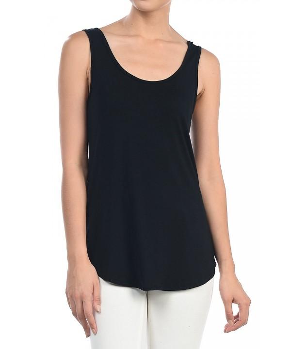 Shamaim Womens Solid Modal Black