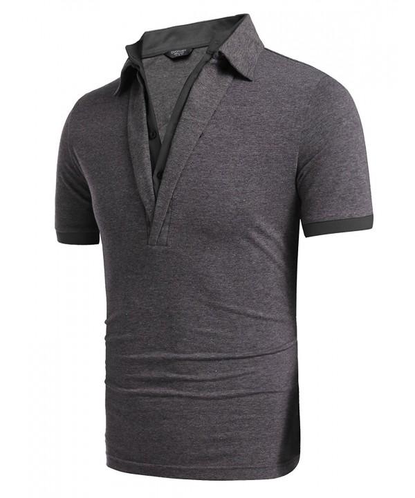Simbama Sleeve Jersey Shirts Collared