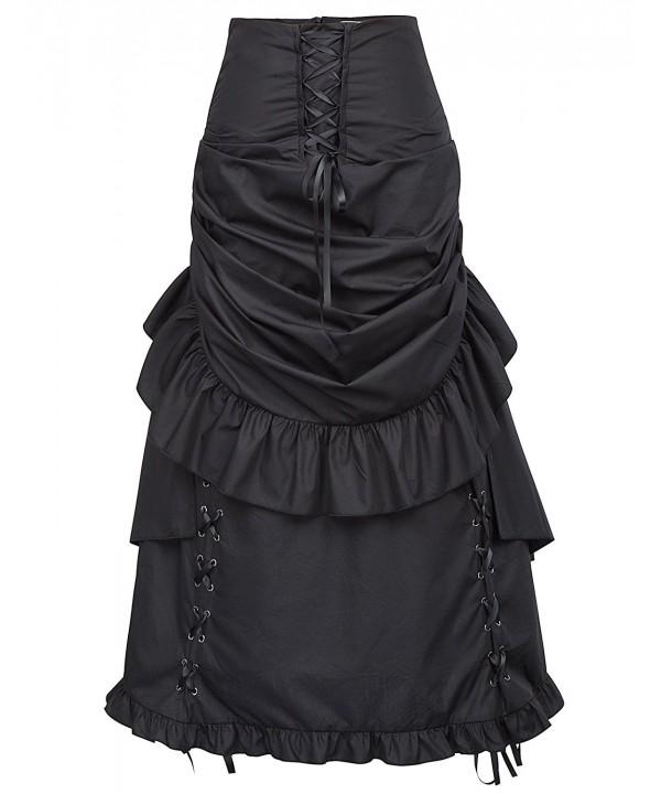 Gothic Steampunk Corset Victorian Zipper