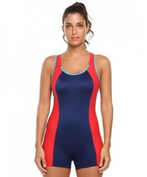 Ekouaer Womens Sports Bathing Swimsuits