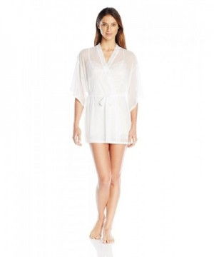 Josie Natori Womens White Small