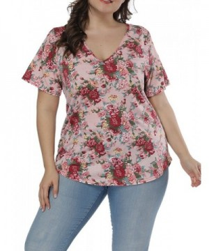 Allegrace Women Floral Sleeve Printed