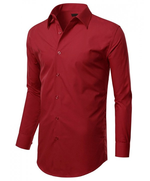HWBY Stretch Slim Fit Dress Shirt