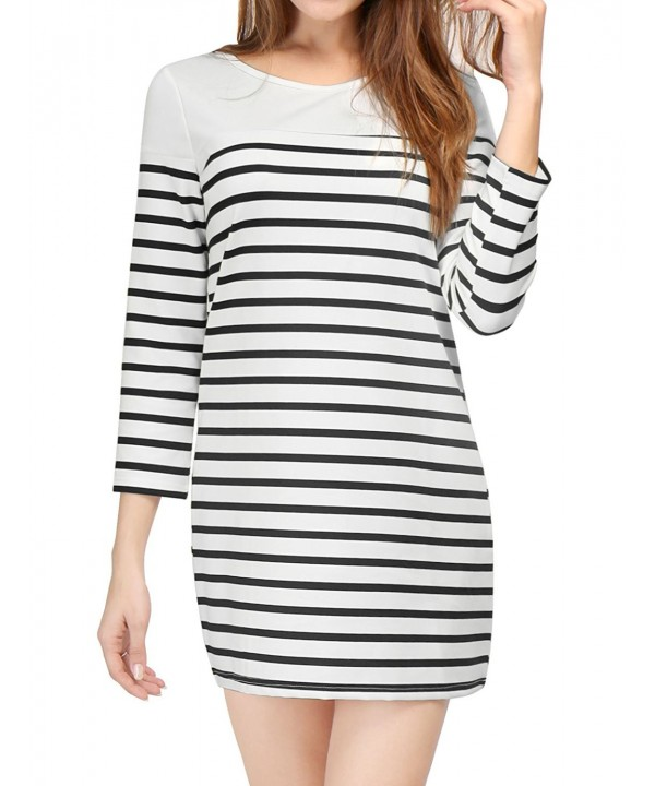 Allegra Womens Sleeves Cutout Stripes