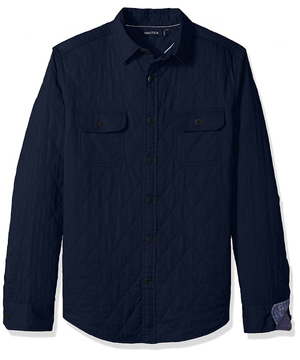 Nautica Standard Sleeve Quilted Maritime