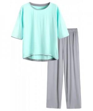 Latuza Womens Sleeve Pajama Green