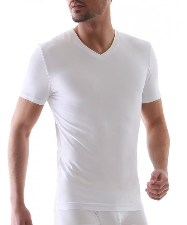 David Archy Micro V neck T shirt