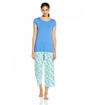Jockey Womens Sleeve Pajama Elephants