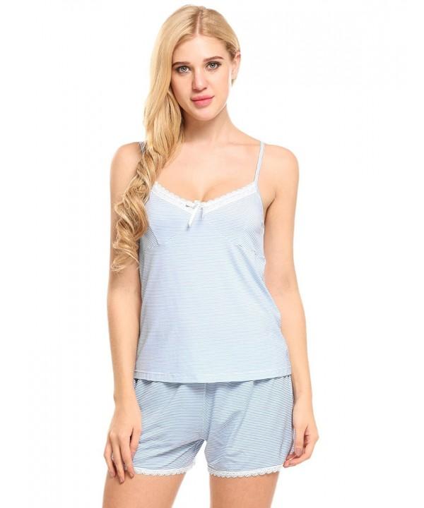Ekouaer Pajamas Camisole Lingerie Sleepwear