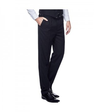 YIMANIE Wrinkle Free Casual Stretch Tapered