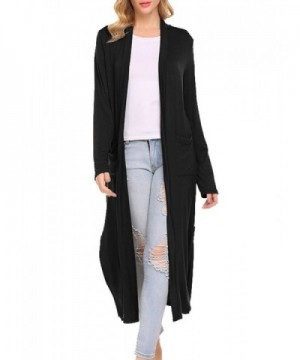 649909024175 Locryz Womens Sleeve Cardigan Pockets  Discount Real Women s Cardigans   Women s Sweaters ...