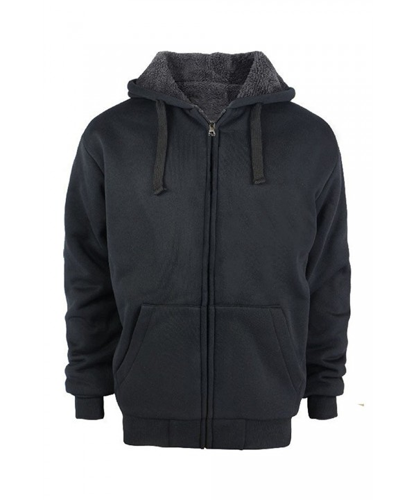 Heavyweight Sherpa Fleece Hoodie Padded