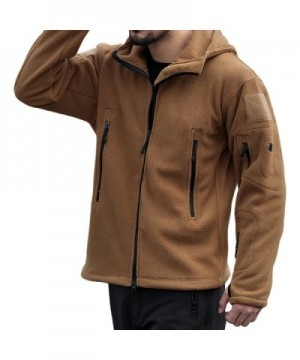 Discount Real Men's Fleece Coats Outlet Online