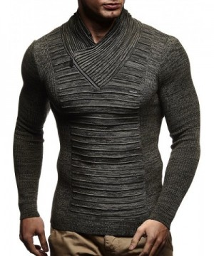 Leif Nelson Knitted Turtleneck Pullover