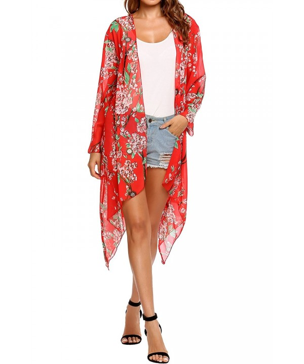 Zeagoo Women Long Cardigan Large