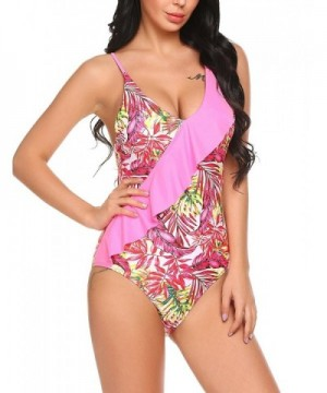 2018 New Women's One-Piece Swimsuits