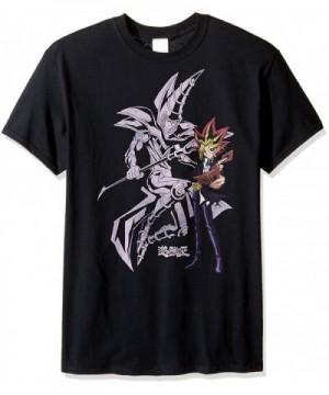Yu Gi Oh Mens magician T Shirt Black