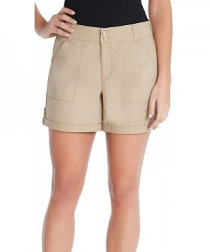 Gloria Vanderbilt Twill Shorts Perfect