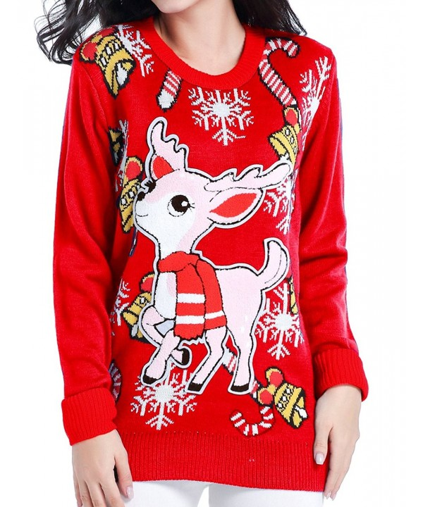 V28 Christmas Sweater Vintage Pullover