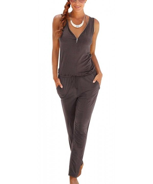Women Sleeveless Clubwear Jumpsuit Rompers