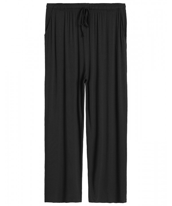 Latuza Mens Lounge Pants Black