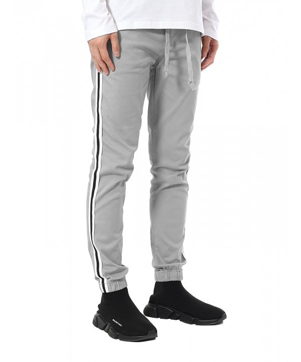 JD Apparel Skinny Joggers Stripes