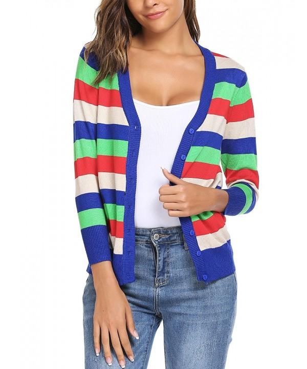Bifast Cropped Cardigan Sweater Lightweight