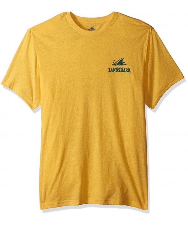 Margaritaville Landshark Bottlecap T Shirt Heather
