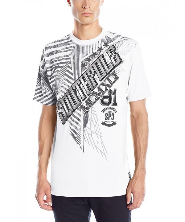 Southpole Sleeve Screen T Shirt Slanting