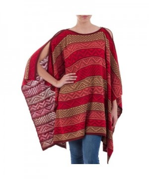 NOVICA Textured Knitted Peruvian Heritage