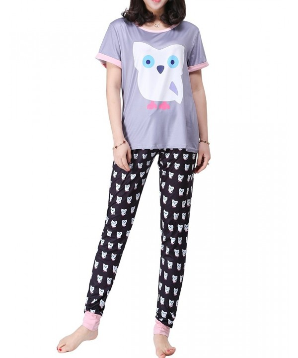 MyFav Womens Digital Sleepwear Loungewear