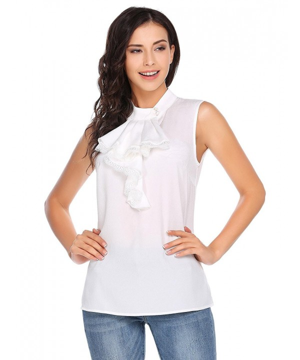 FANEO Womens Summer Sleeveless Blouse