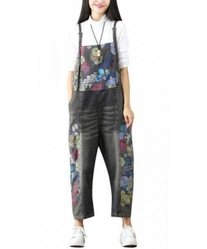 Soojun Womens Fashion Printed Jumpsuits