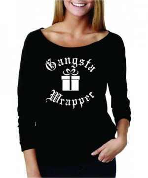 Gangsta Wrapper Raglan Christmas 4 Sleeve