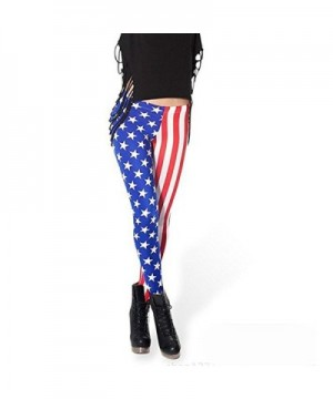 Ensasa Fashion American Strenchy Leggings