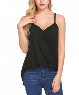 Cosclotre V neck Casual Sleeveless T Shirt