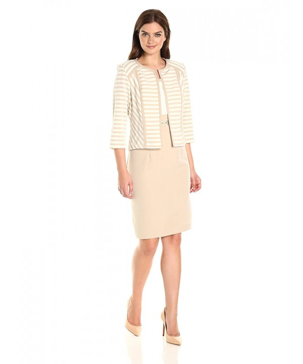 Sandra Darren Womens Sleeve Neutral