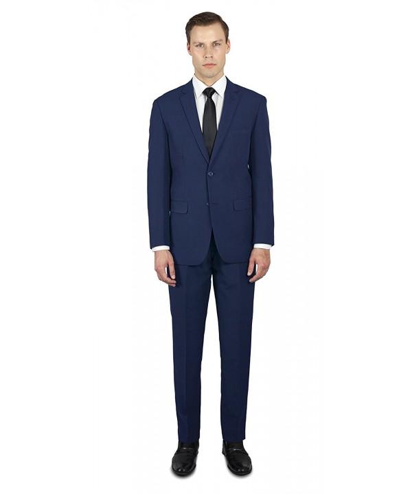 Alain Dupetit Mens Button Suit