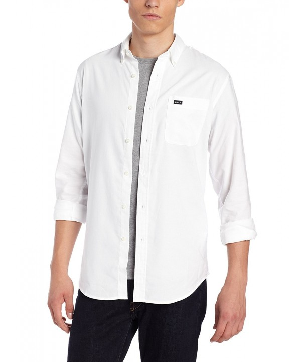 RVCA Thatll Oxford Sleeve X Small