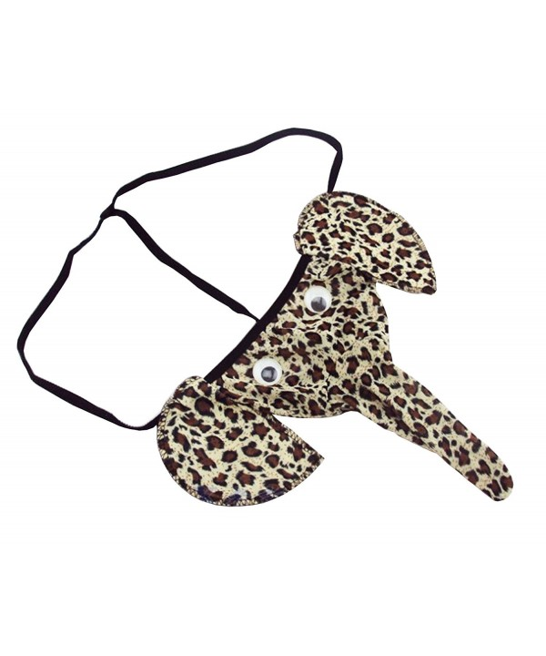 WLC Elephant G String Underwear Leopard