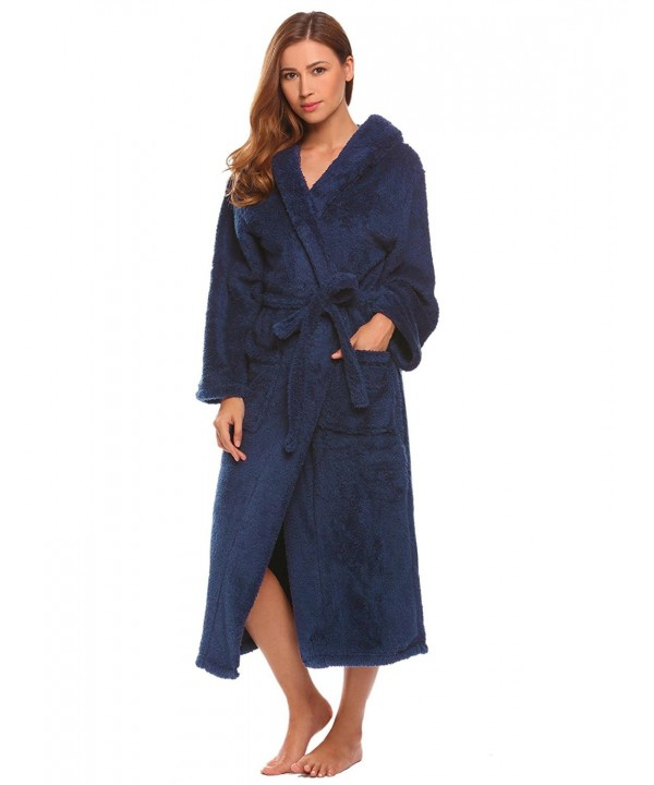 Hufcor Sleeping Thicker Bathrobe Blue XXL