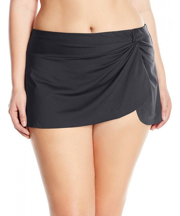 Anne Cole Womens Skirted Swimsuit