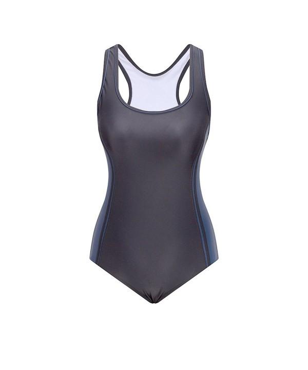 Lemef Swimsuit Halterneck Tankini Swimwear