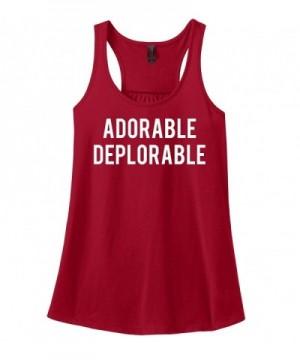 Comical Shirt Adorable Deplorable Hillary
