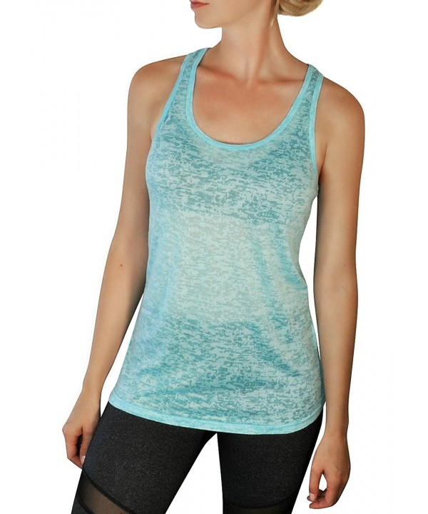 Comfy Yoga Top Burnout Racerback