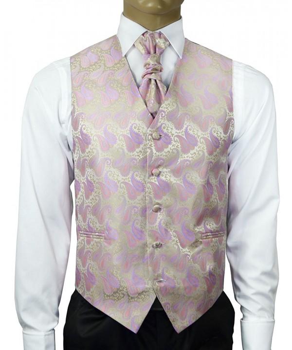 Cashmere Wedding Cravat Pocket Cufflinks